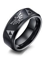 Rock Gothic Titanium Steel Man Ring Restoring Ancient Ways