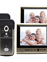KiVOS Wireless Video Doorbell Household Plug-In Monitoring Two Drag Two Electronic Doorbell