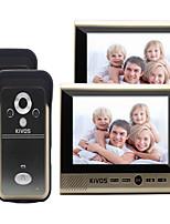 30 120 CMOS Klingelanlage Kabellos Multifamily videotürklingel