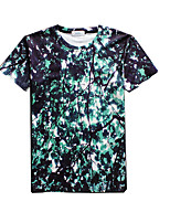 New Fashion Men Personality Crew Neck Short Sleeve Men 3d T-shirt