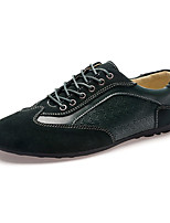Men's Sneakers Fall / Winter Round Toe Suede Casual Flat Heel Lace-up Blue / Green / Gray Others