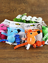 Cat Toy Pet Toys Interactive Mouse / Candy Textile Random Color