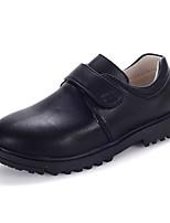 Boy's Flats Spring/Summer/Fall/Comfort/Styles/Round Toe/Closed Toe/Flats Nappa Leather Flat Heel Magic Tape/Slip-on