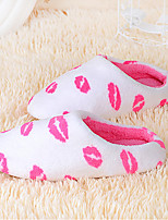 Women's Slippers & Flip-Flops Winter Slippers / Round Toe Fleece Casual Flat Heel Others Others