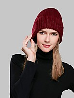 Women Acrylic Beanie/SlouchyCasual Winter