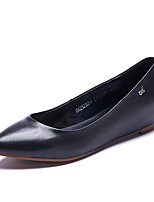 Women's Loafers & Slip-On Spring / Fall Comfort / Pointed Toe sheep Skin Office & Career / Casual Wedge Heel shoe