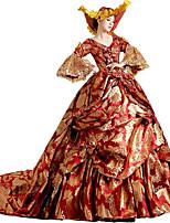 Steampunk@Women's Elegant Layered Lolita French Train Wedding Ball Gown