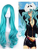 bleach anime cosplay style harajuku Neliel tu oderschvank personnalité d'onde portant partie de halloween perruques à la mode naturelles