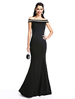 TS Couture® Formal Evening Dress Trumpet / Mermaid Off-the-shoulder Floor-length Jersey with