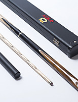 OMIN Snooker Cue Professional 3/4 Black Ebony Butt Ash shaft Handmade Billiard Cue Star Mark