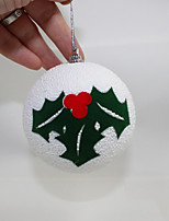 Upscale Christmas Foam Ball 8Cm Christmas Tree Ornaments Christmas Decorations