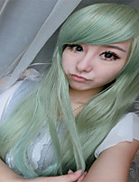 High Fashion Women Hair Drag Queen Wigs Harajuku Ombre Pastel Mint Green Wig Heat Resistant Synthetic