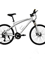 Mountain Bike Cycling 27 Speed 26 Inch/700CC 50mm Men's 27 Double Disc Brake Suspension Fork Aluminium Alloy Frame