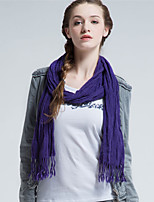 Alyzee Women Acrylic ScarfFashionable Jewelry-B4015
