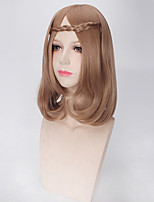 Brown Color Afro Women Synthetic Wigs Fashion Wigs