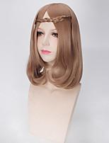 couleur brun femmes afro perruques de mode perruques synthétiques