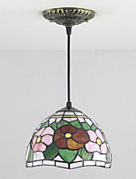25W Pendant Light   Rustic/Lodge / Tiffany Painting Feature for Mini Style Metal Living Room / Bedroom