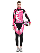 Sports® Cycling Jersey with Tights Women's Long Sleeve Breathable / Quick Dry / Sunscreen Bike Clothing Sets/Suits Coolmax Classic Summer