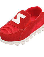 Girl's Sneakers Spring / Fall Comfort Tulle Outdoor / Casual Flat Heel Slip-on Track & Field / Walking