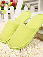 Women's Slippers & Flip-Flops Fall / Winter Scuff Cotton Casual Flat Heel Others Blue / Yellow / Purple / Red Others