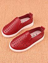 Boy's Flats Summer Platform Other Animal Skin Outdoor Flat Heel Platform Others Black Yellow Pink Red Walking