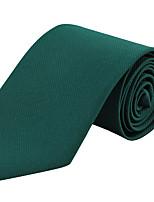 Для мужчин Винтаж / Для вечеринки / Для офиса / На каждый день Галстук,Полиэстер Полоски,Зеленый Все сезоны