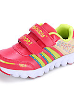 Boy's Flats Spring / Fall Round Toe PU Casual Flat Heel Others / Hook & Loop Black / Blue / Red Others