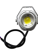 Car 10W Led Super Big Bull Eye Lamp Modified Lamp 8 Angle Housing Kit