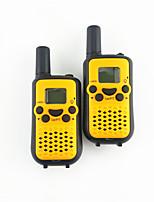 1 par de amantes de walkie-talkie de intercomunicación entre padres e hijos actividades de radio mini