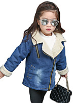 Girl's Casual/Daily Solid Suit & BlazerCotton / Rayon Winter / Spring / Fall Blue