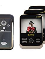30W像素 120° CMOS Klingelanlage Kabellos Fotografiert / Aufnahme