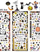 3sheet/set HOT199-201 new Halloween design Water decal Nail Sticker design Nail Art Decals Water Transfer sticker Tips