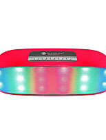 Wireless Bluetooth Lights Speakers Two Speakers Discus Entertaining Diversions Card Stereo Mini Bass