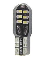 10 x t10 149 W5W 3w canbus 24x3014smd conduit 300lm conduit ampoule de voiture (6000 - 6500k dc 12 - 16v)