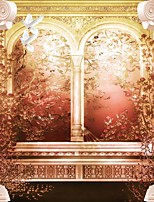 Ар деко / 3D Обои Для дома Ретро Облицовка стен , Холст материал Клей требуется фреска , номер Wallcovering