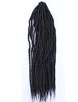 Senegal Twist Braids Haarverlängerungen 24inch Kanekalon 2 Strand 160g/pack Gramm Haar Borten