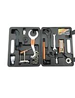 Bicycle repair tool set