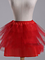 Slips Ball Gown Slip Short-Length 3 Polyester White / Black / Red