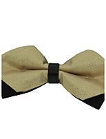 Wedding Party Men Bow Tie Polyester Silk Adjustable