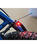 Bike Light Safety Lights LED Super Light / Small Size Lumens Battery LED Black Cycling/Bike