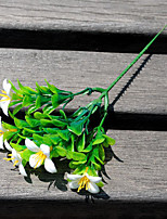1 1 Филиал Пластик Pастений Букеты на стол Искусственные Цветы 23cm
