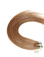Best Selling Tape In Remy Human Hair Weaves 16-24 Skin Human Hair Extensions 20pcs/bag 100% Remy Virgin Human Hair