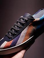 Masculino-Tênis-Conforto-Rasteiro-Azul-Courino-Ar-Livre
