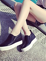Women's Loafers & Slip-Ons Summer Comfort Leatherette Casual Flat Heel Others Black / White Others