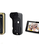 180 Degree Adjustable Lens Wireless Visual Intercom Doorbell Multi Angle Remote Control Unlocking