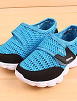 Синий Зеленый Розовый-Унисекс-Для занятий спортом-Тюль-На плоской подошве-Удобная обувь-Кеды