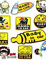 ребенок в машине светоотражающие наклейки ребенок наклейки автомобиль автомобиль стикеры автомобиля стикеры автомобиля мама ребенка муссом
