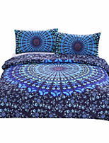 BeddingOutlet Moonlight Bedding Set Bohemia Blue Nice Gift Plain Twill Home Textiles Twin Full Queen King Genuine