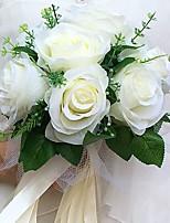 Hochzeitsblumen Rundförmig Rosen Sträuße Hochzeit / Partei / Abend Satin ca.22cm