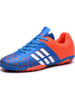 Men's Athletic Shoes Spring / Fall Comfort PU Casual Flat Heel  Blue / Green / Red Soccer